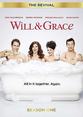 WILL AND GRACE: THE REVIVAL Stagione 1 Completa BOX 2 DVD in Inglese Nuovo
