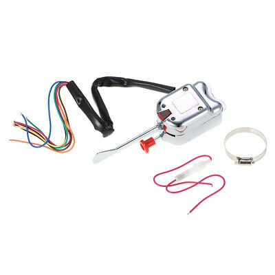 12V Universal Street Hot Rod Turn Signal Switch for FORD for BUICK for GM Z4B4