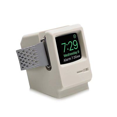 Stand Charger Dock Holder Station Nightstand Mode for Apple 42/38mm Watch 1 2 3