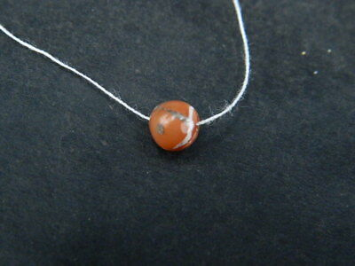 Ancient Etch Carnelian Bead Roman 200 BC No Reserve  #BE5292