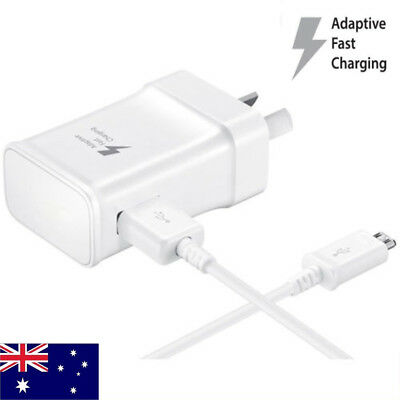 5V 2A USB Wall Charger  AU Plug Fast Adapter& Micro USB Cables For Samsung LG G5