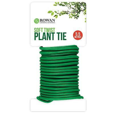 Plant Ties & Supports 8m Reusable Garden Plant Support Twist Tie Cable Weatherproof Wire Plant Care, Soil & Accessories