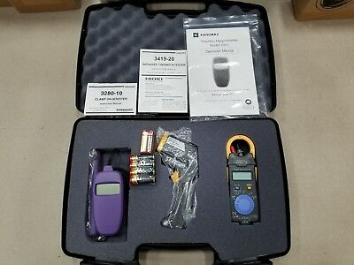 Hioki HVAC Kit H Professional Kit with Thermo-Hygrometer, Infrared Thermometer