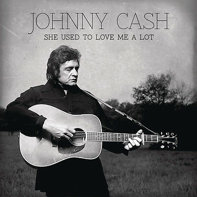 Johnny Cash :  She Used to Love Me a Lot [ Vinyl Single ]- (The Haunted Mix)