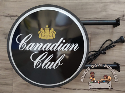 Canadian Club CC LED Double Sided Lightbox Light Box 240v 400mm more designs