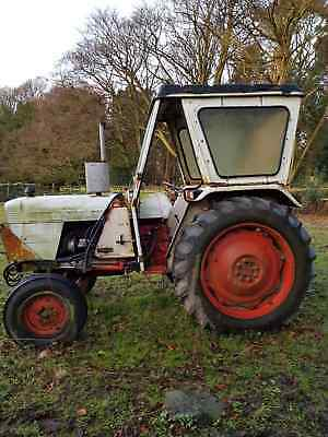David Brown Tractor 955 with Trailer