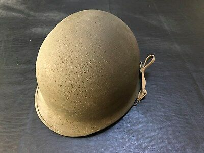 World War II / WWII M1 Helmet, Front Seam, Swivel Bale, Refurbished