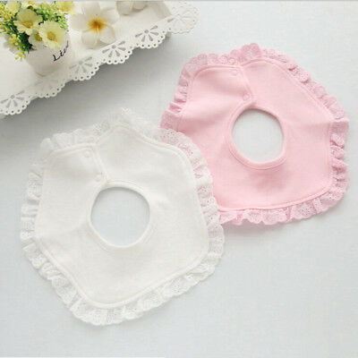 Cotton Baby Bibs Infant Toddler Bibs Saliva Kids Scarf Towel Triangle Round New
