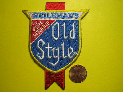 Beer Patch Heilemans Old Style Beer Patch Crest Size Look And Buy!*