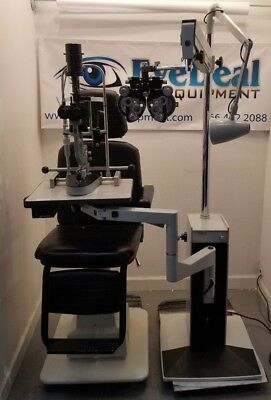 Reliance Lane Package Chair, Stand, Phoroptor Slit lamp w/Tono Acuity Chart