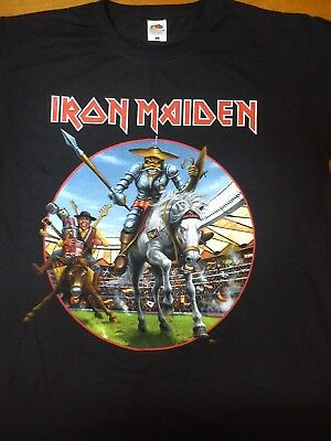 Iron Maiden Madrid Wanda Metropolitano Official Event Tshirt  Size L