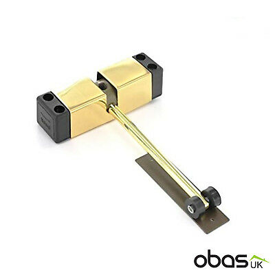 Hercules Surface Fix Mounted Automatic Door Closer Brass Auto Spring Closing