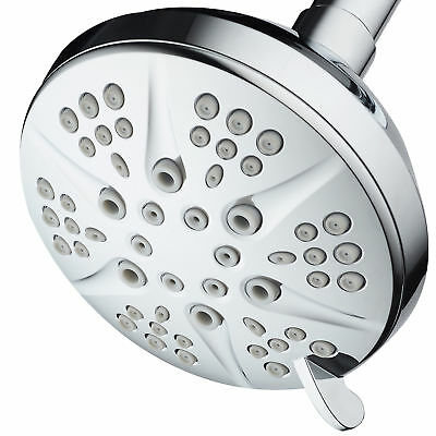 "HotelSpa NOTILUS High-Pressure 6-setting 4.3"" Face Luxury Spa Shower Head"