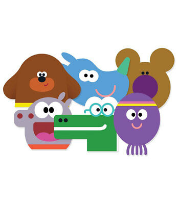 Hey Duggee and Squirrels 2D Card Party Face Masks Variety pack of 6