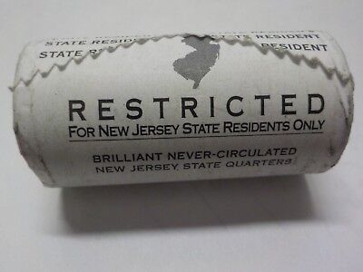 1999 roll of new jersey George Washington coin mint wrapping Delaware crossing