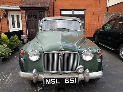 1960 Rover p4 100 running project mot and tax exempt