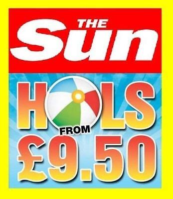 The Sun Holidays from £9.50 All 10 code words For Online Booking saver codes