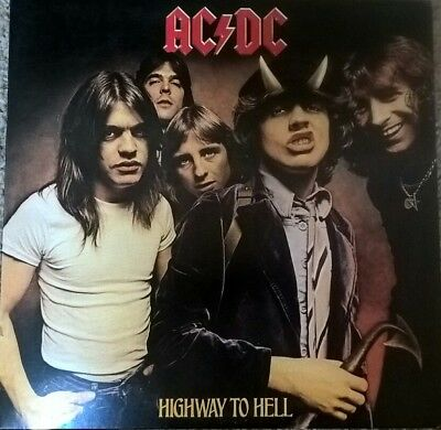 AC/DC Highway To Hell Columbia Records USA 2003 Remastered Heavy vinyl EX
