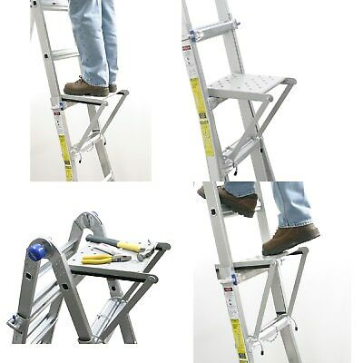 Little Giant Ladders Platform For Ladders Or Scaffolds Multi-Purpose Ladder