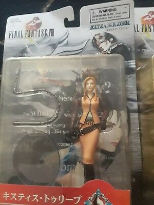 Lot of unopened Bandai Final Fantasy VIII 8 Extra Soldier Action Figures
