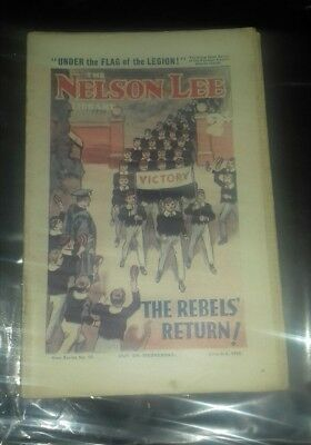 NELSON LEE LIBRARY Comic,Series15,June3rd 1933 Rebels Return, nearly antique