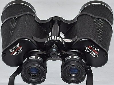 (536) Tasco 7X50  Binoculars With Dedicated Protective Case (Used)