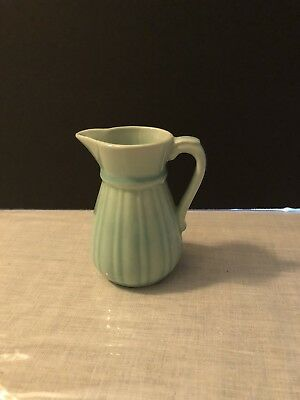 Vintage (1931-1944) Stangl Individual Creamer #1388 in Silver Green, Miniature
