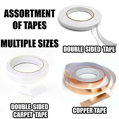 Quality Strong Assorted Tape | Double Sided, Carpet, Copper | DIY Multi Purpose