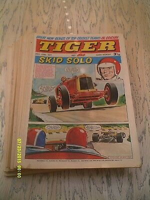 26 Tiger Comics Year 1971 - 2nd January to 26th June