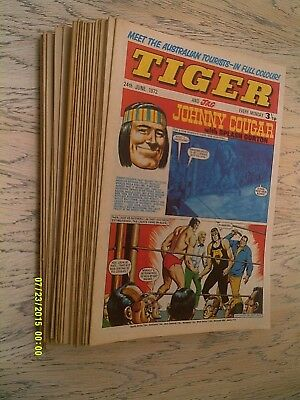 26 Tiger Comics 1972 - 1st January to 24th June