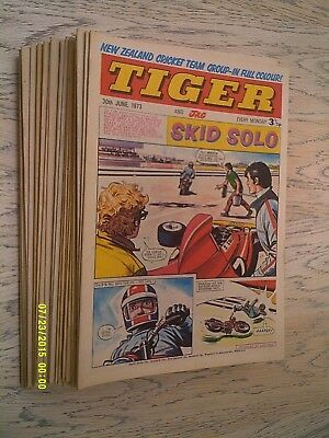 26 Tiger Comics 1973 - 6th January to 30th June