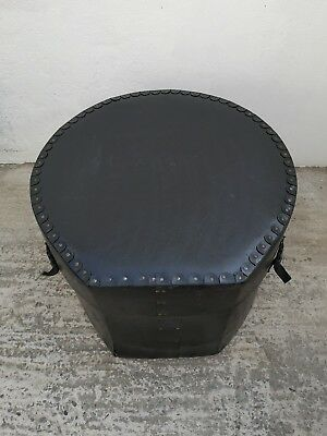"Vintage Le Blond 22"" X 18"" Bass Drum Case with 3 Straps & Handle (26"" X 20"")"