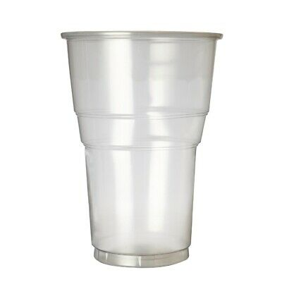 Plastico Premium Pint Glass CE Marked (Pack of 1000) (Next working day to UK)