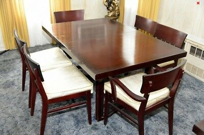Mid Century Broyhill Cherry Dining Table & Chairs - Single Owner
