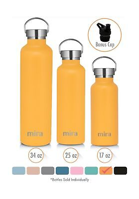 MIRA Stainless Steel Vacuum Insulated Water Bottle | Thermos Flask Keeps Cold...