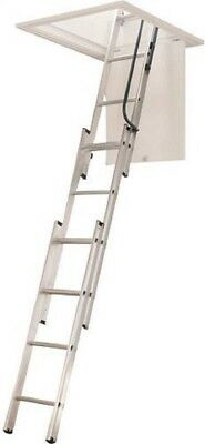 Werner Ladder AA1510 Ladder Aluminum Attic - 250 lb.