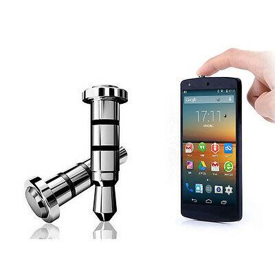 2x Click Quick iKey Button Dust Plug for Android OS Cell Phone Headphone Jack DP