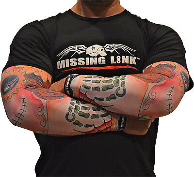 Missing Link Arm Pro Stitched In Time Motorcycle Cooling Compression Sleeves
