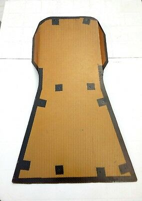 Carbon / Aramid Sheet (Race Car Seat Back Piece)
