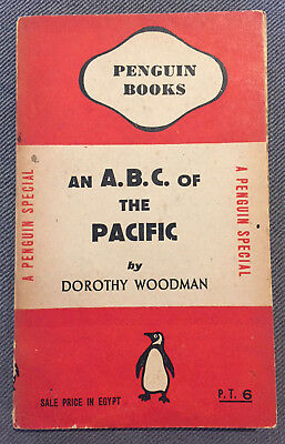 Wartime Penguin Books S114 WW2 Egyptian Edition ABC of the Pacific