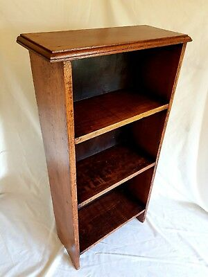 Solid Oak Bookcase, Antique - Early 1900s, Beautiful Aged Patina.