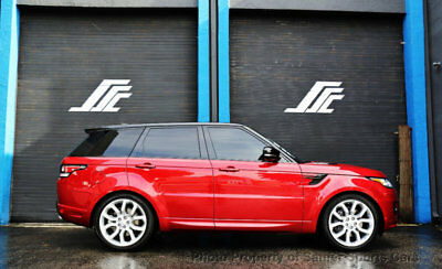 Land Rover Range Rover Sport V8 Supercharged Autobiography 2017 Land Rover Range Autobiography Sport Dynamic Rear Entertainment 11K Miles