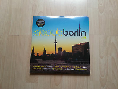 "Various Artists "" about berlin vol.8 "" Vinyl 4LP Limitiert Neu Sealed Limited"