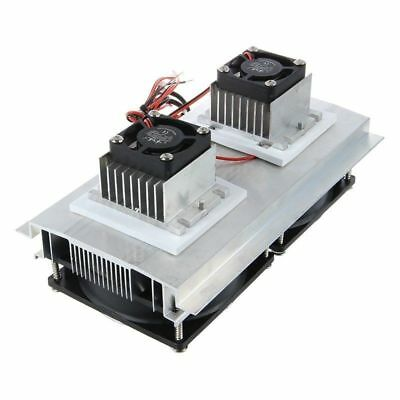 Thermoelectric Peltier Refrigeration Cooling System Kit Cooler Double Fan D S950