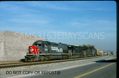 Original Slide Southern Pacific Rr Sd45T-2 8322 Action No Locale
