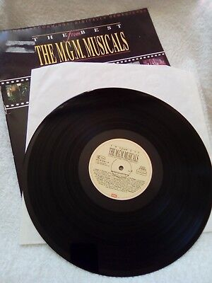 The Best from The M.G.M. Musicals - LP - ISBN: 7777955441 - 1990