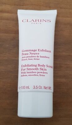 Clarins Exfoliating Body Scrub for Smooth Skin 100ml Brand New