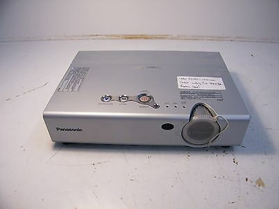 Panasonic PT-LB20EA LCD Projector, 2972 Lamp hours, Needs Replacement Lamp