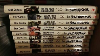 The Swordman 1-9 Star Comics