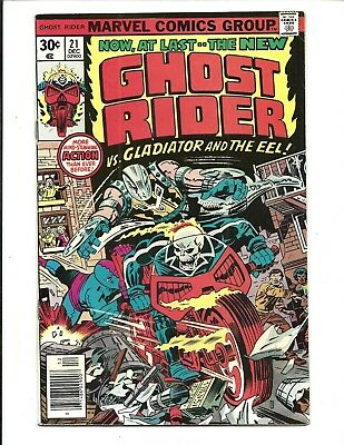 GHOST RIDER (Vol.1) # 21 (CENTS ISSUE, DEC 1976), FN/VF